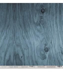 """Лист односторонней бумаги Scrapmir """"Ледяное дерево"""" из коллекции """"Rustic Winter"""" 30*30 см"""