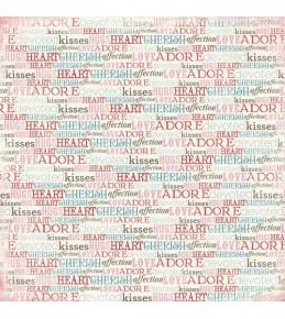 "Бумага ""Words of Love """