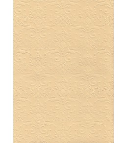 """Бумага с рельефным рисунком """"Дамаск премиум"""" Цвет: Paglierino"""