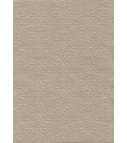 """Бумага с рельефным рисунком """"Дамаск премиум"""" Цвет: Grigio-chiaro"""