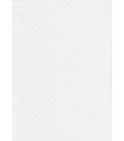 """Бумага с рельефным рисунком """"Точки"""" цвет белый"""