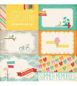 """Бумага """"Summer Memories """""""