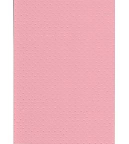"""Бумага с рельефным рисунком """"Точки"""" цвет розовый"""