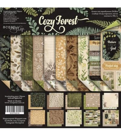 "Набор бумаги ""Cozy Forest"" 20х20 см"