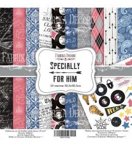 "Набор бумаги ""Specially for him""  20x20 см"