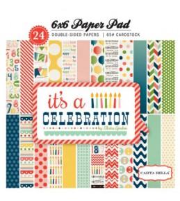 "1/2 Набора бумаги ""It's Celebration""  15*15 см"