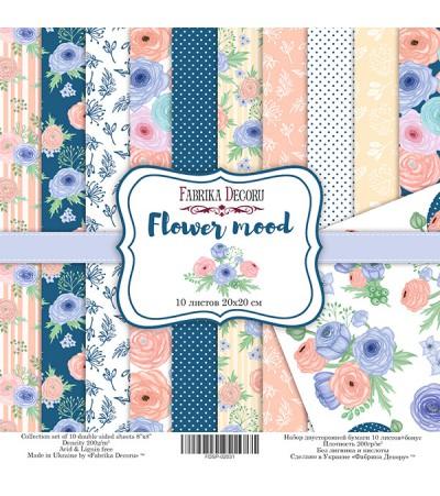"Набор бумаги ""Flower mood""  20*20 см"