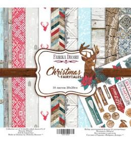 "Набор бумаги ""Christmas fairytales""  20x20 см"