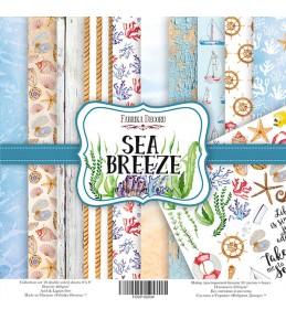 """Набор бумаги """"Sea Breeze"""", 20 Х 20 см"""