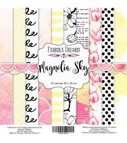 "Набор бумаги ""Magnolia Sky""  20 Х 20 см"