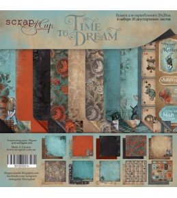 "Набор бумаги ""Time to Dream (eng.)  20х20 см"