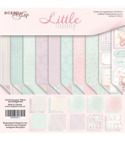 "Набор бумаги ""Little Bunny""  20х20 см"