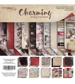 """Набор бумаги Scrapmir """"Charming (Очарование) """" 20х20см"""