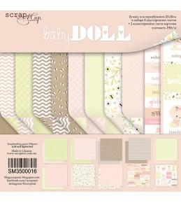 "Набор бумаги Scrapmir ""Doll Baby"" 20х20см"
