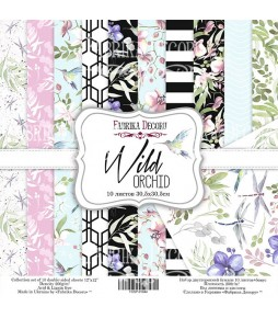 "Набор бумаги ""Wild orchid""  30*30 см"