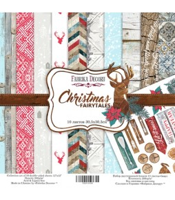 "Набор бумаги ""Christmas fairytales""  30*30 см"