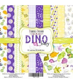 """Набор бумаги """"Dino baby"""" 30*30 см"""