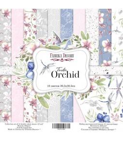 "Набор бумаги ""Tender orchid""  30*30 см"
