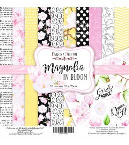 "Набор бумаги ""Magnolia in bloom"", 20x20 см"