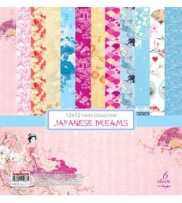 """Набор бумаги """"Сны о Японии"""" 30,5х30,5 см"""