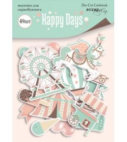 """Набор бумажных высечек """"Happy Days"""""""