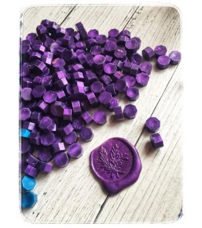 Воск фиолетовый, 3 штуки