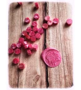 Воск розовый перламутровый, 3 штуки