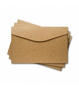 Конверт для открытки 11х17 см, крафт