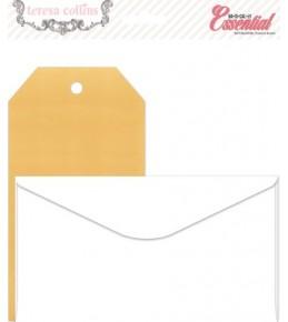 "Набор конвертов и тегов ""Basically Essential"""