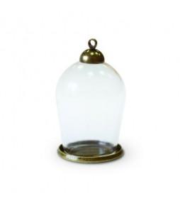 Набор стеклянный мини-колпак 30*18 мм