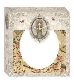 """Набор открыток и конвертов """"МИРАБЭЛЬ"""", размер 15*15 см,  12 штук"""