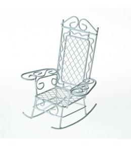 Мини кресло-качалка  8.5X7.5X10см .
