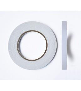 Двусторонний прозрачный скотч 12 мм, 50 м