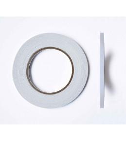 Двусторонний прозрачный скотч 6 мм, 50 м