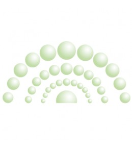 Жидкий жемчуг, Зеленый, 20мл