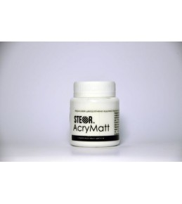 Акриловая краска AcryMatt,  белый матовый, 20мл