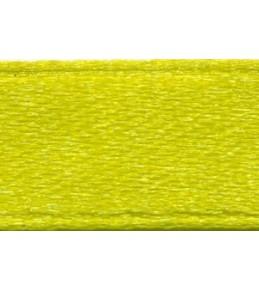 Лента атласная, цвет лайм, 6 мм
