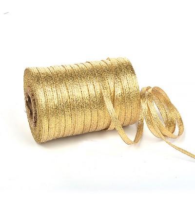 Лента парчовая, 5 мм, цвет золото