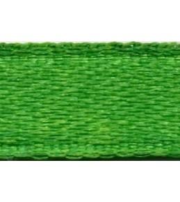 Лента атласная, зеленая,  6мм