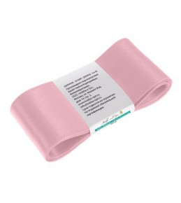 Лента атласная, 50 мм, розовый