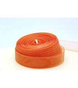 Лента капрон (органза), персиковая, 10 мм