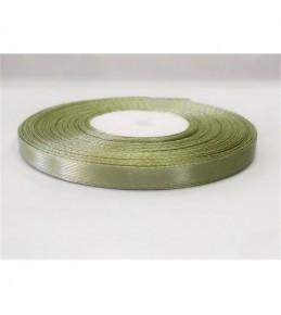 Лента атласная, цвет оливковый, 6 мм