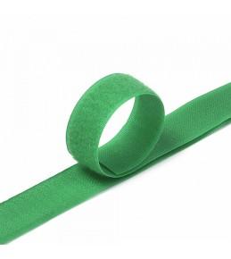 "Контактная лента ""Липучка"", 25 мм, зеленая"