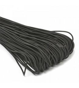 Резинка шляпная (шнур круглый) черная