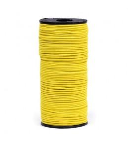 Резинка шляпная (шнур круглый) желтая