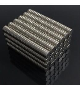 Магнит неодимовый, 6*3 мм, 2 штуки