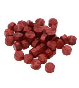 Воск красное золото, гранулы, 3 штуки