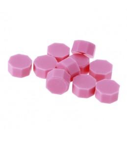 Воск розовый, гранулы, 3 штуки