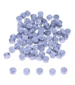 Воск серебро, гранулы, 3 штуки