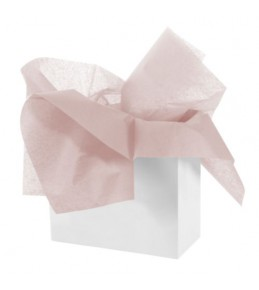 """Бумага тишью """"Нежно-розовый"""""""